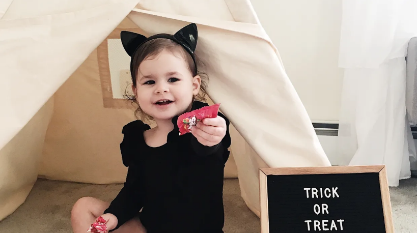 How to Keep Halloween Sweet (not spooky!) for Toddlers